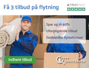 flyttefirma nordsjælland